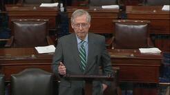 """McConnell: """"Derogaremos el mandato para que no estemos obligados a tener..."""