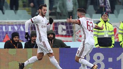 Milán empató de visitante pero terminó el año fuera de zona de torneos continentales