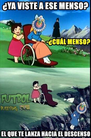 Memes de Cruz Azul vs Chivas