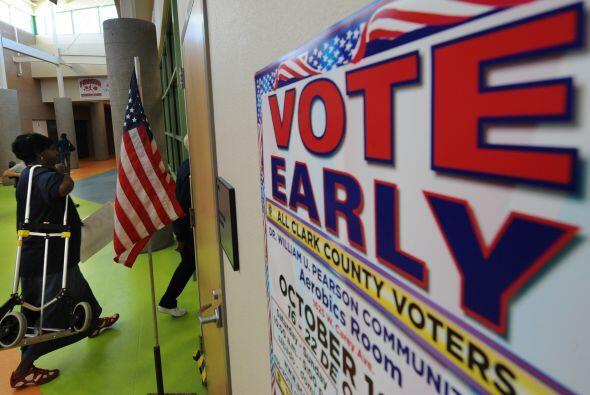 Millones de electores acudirán a las urnas el martes 2 de noviembre. No...