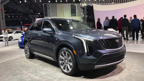 La nueva Cadillac XT4 2019 debutó en el Auto Show de Nueva York 2...