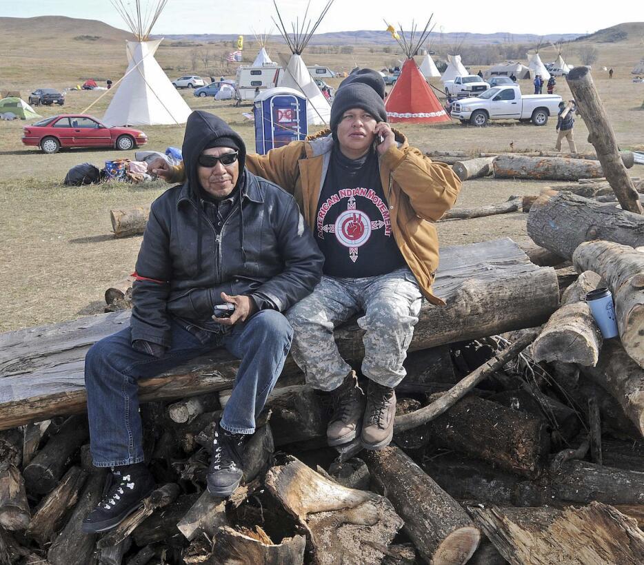 En fotos: La lucha de los sioux contra un oleoducto de 1.168 millas de l...