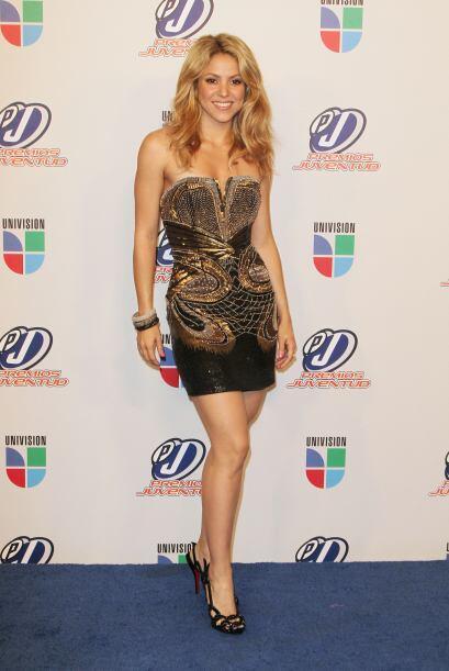 El 2010 fue el año de Shakira, sin duda alguna.