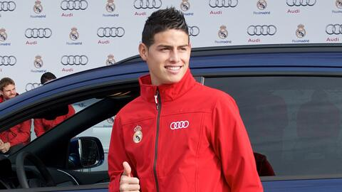 Los autos de James Rodríguez