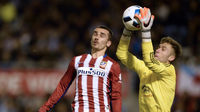 Celta y Atlético igualan en ida de cuartos