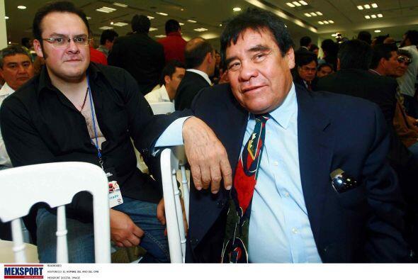 Rubén 'Púas' Olivares, fue candidato del a una diputación local en el DF.