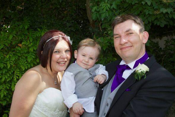 Ahora Shelley y su familia sólo esperan  que el tratamiento tenga éxito,...