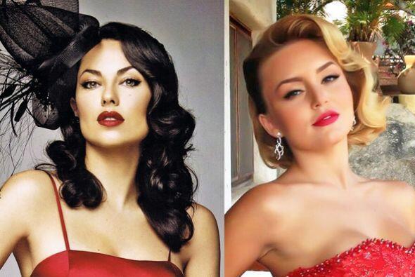 Como actrices son talentosas y como mujeres son las más hermosas pero, ¿...