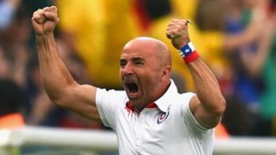 El técnico de la selección de Chile señaló que nunca olvidará el triunfo...