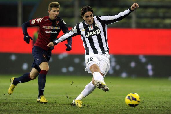 El jugador del líder Juventus fue el revulsivo necesario ante el Cagliari.