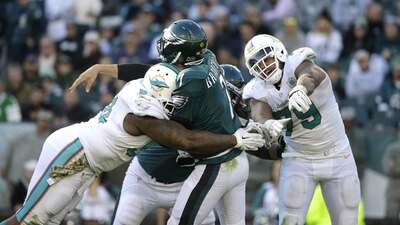 Dolphins 20-19 Eagles: Con Bradford lesionado, Miami dio sorpresa en Phi...