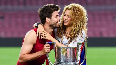Piqué y Shakira