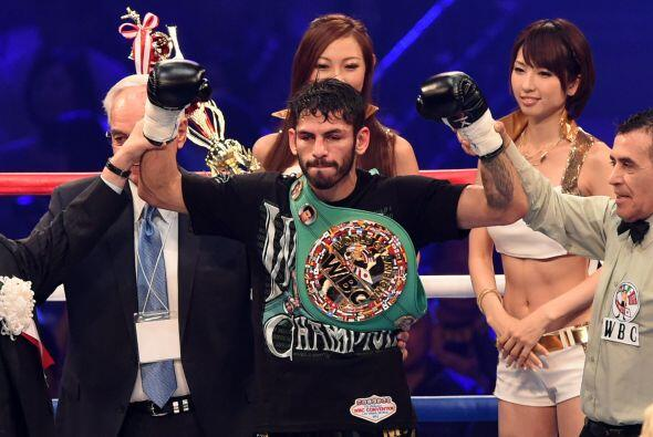 Jorge Linares tomó el cinturón que había dejado vacante Omar Figueroa.