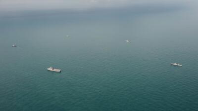 Búsqueda en el mar de Indonesia. (imagen de Archivo).