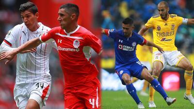 Partidazos en la J3: Cruz Azul quiere despertar ante Tigres y Chivas a vencer al puntero Toluca