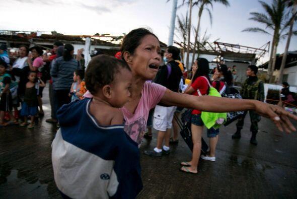 Cerca de 10 millones de filipinos se han visto afectados por los estrago...