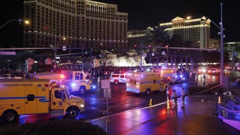 Accidente en La Vegas, arrollamiento