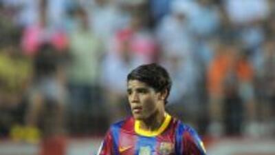 Jonathan Dos Santos jugó un tiempo en el inicio de temporada del Barcel...