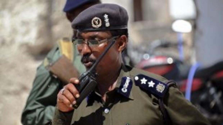 Policía de Somalia.