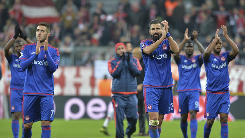 Olympiacos avanzó a la semifinales de la Copa de Grecia