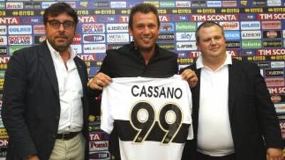 'Fantantonio' fue presentado como nuevo jugador del Parma.