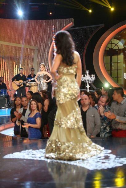 La mexicana se sintió la reina de la pasarela.