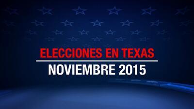 Elecciones en Texas 2015
