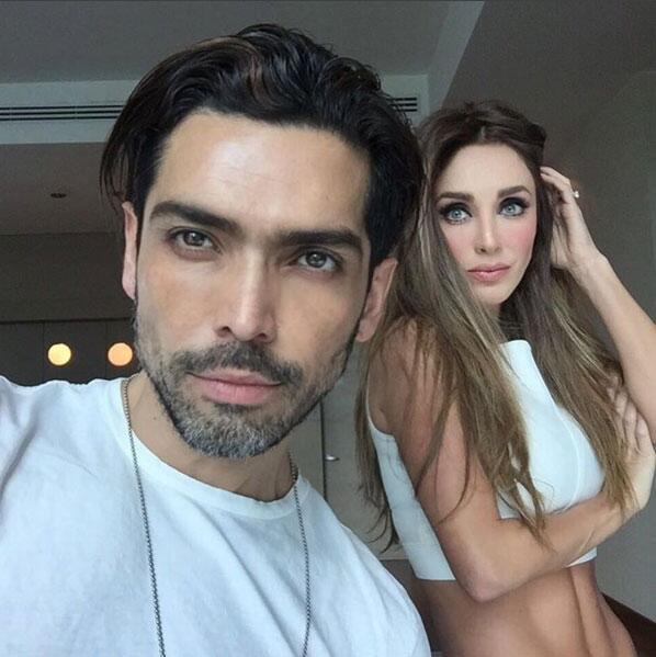 Actrices de telenovela con vientre plano
