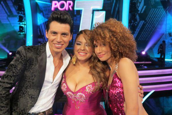 Junto a Vivian Mitre y Joyce Paulino.