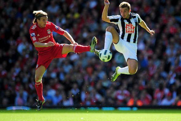 Fernando Torres anotó con el Liverpool para darle la victoria a s...