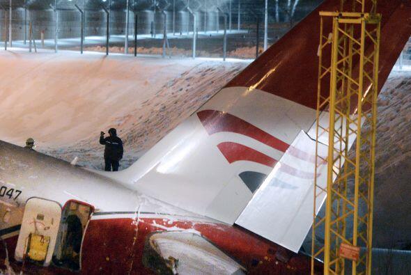 Precisamente, la agencia de aviación de Rusia, Rosaviatsia, informó el d...