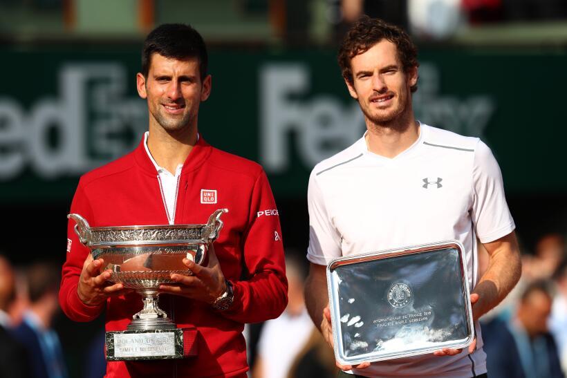 Murray y Djokovic fuera del Top 10 ATP, Nadal nuevo líder GettyImages-53...