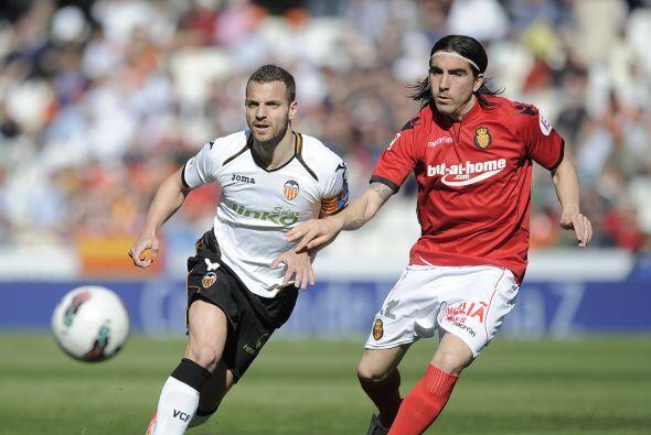 En otro juego de este domingo, el Valencia recibió al Mallorca.