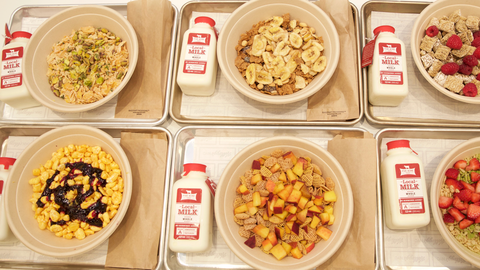 Cereal bars, con cereales de todos tipos para disfrutar a cualquier hora.