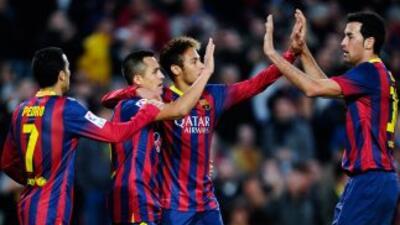 El Barcelona apeló al fútbol práctico para derrotar a la Real Sociedad.