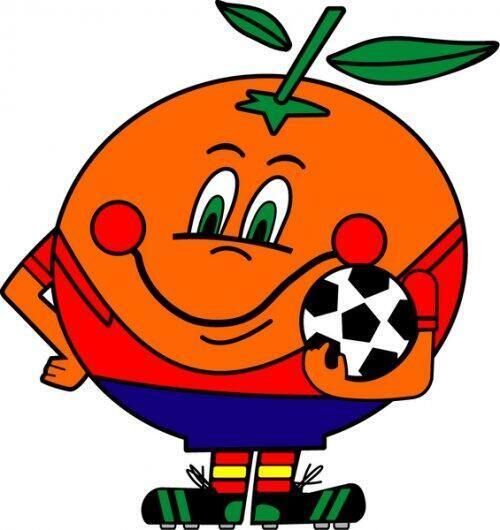 """Previo a """"Piqué"""" tuvimos a """"Naranjito"""", la mascota de España 1982 fue un..."""