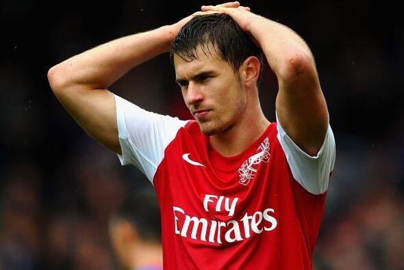 No hay duda que Aaron Ramsey tiene mucho futuro como futbolísta.