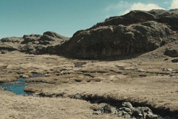 Los ríos se han reducido a arroyos.