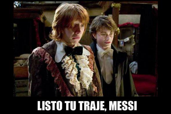 Las redes sociales se burlaron del traje de Lionel Messi, las reacciones...