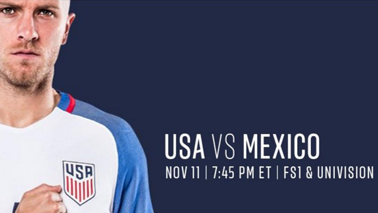Univision is broadcasting the game on Friday at 7.45pm ET