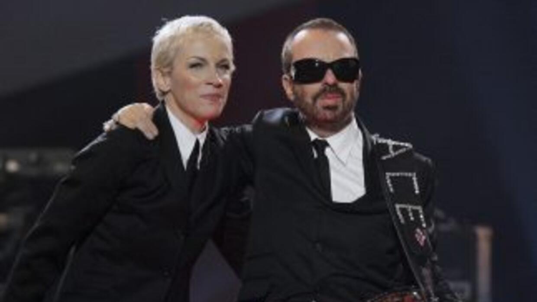 Annie Lennox y Dave Stewart, la pareja que formabaEurythmics, se reunir...