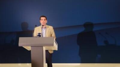 Alexis Tsipras,líder de la Izquierda Radical.
