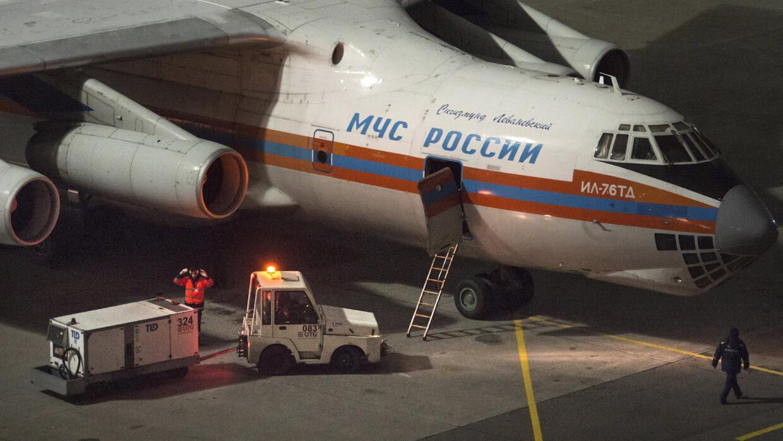 Avión ruso, controles de seguridad