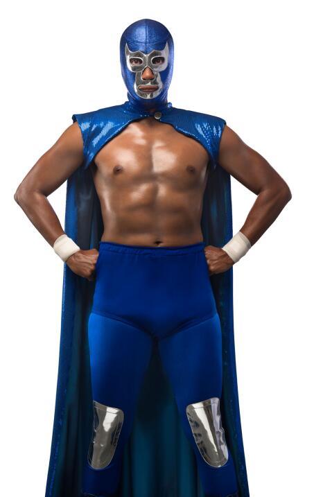 Tenoch Huerta es Blue Demon