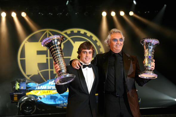 El bicampeón de la Fórmula 1 teminó el 2005 con la Renault y se disponía...
