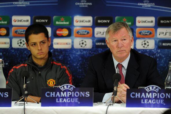 ''Chicharito es el único delantero titular del Manchester United'...