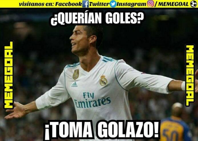 Cristiano Ronaldo marcó gol y los memes se rindieron a sus pies 24899940...
