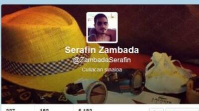 Fotografía del Twitter que sería de Serafín Zambada.