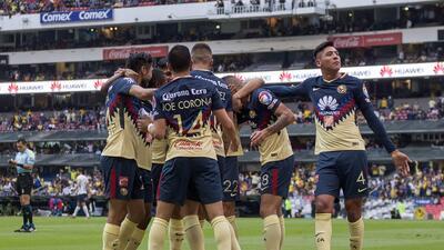 En fotos: América liquidó a Pumas con otro triunfo inobjetable