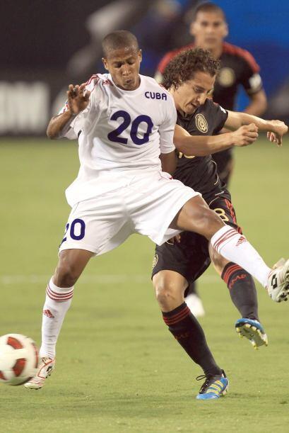 Jugadores de Cuba como Alberto Gómez, intentaron hacerle da&ntild...